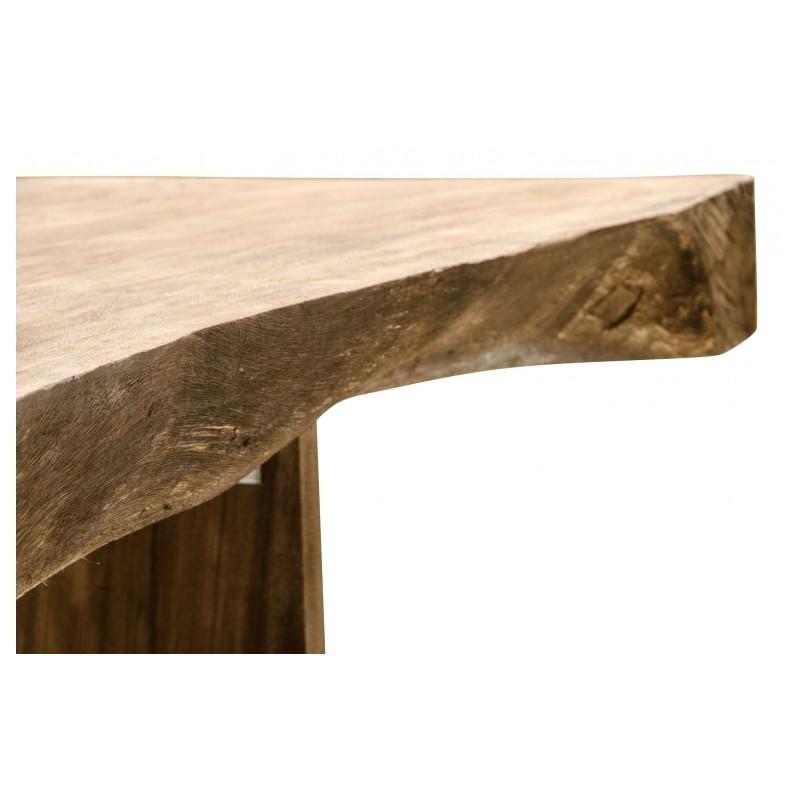 Incroyable Et Admirable Table De Repas Dolmen En Bois De Suar Au