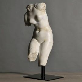 Statue Vénus sur Socle - H 55cm