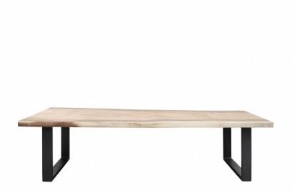 Table bois brut massif Dolmen TUBE 250