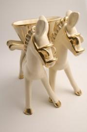 Vide poche figurine en céramique