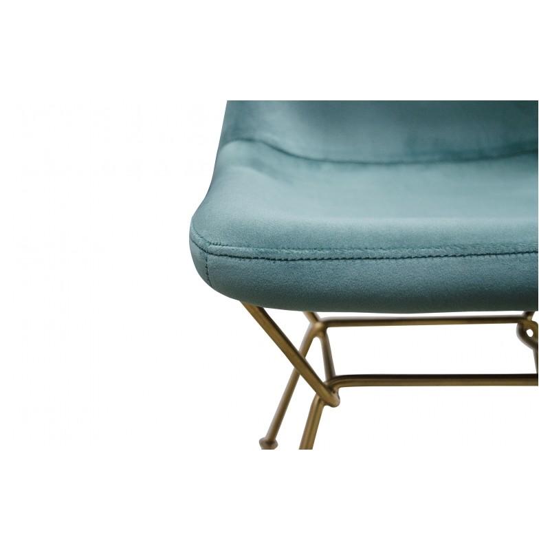 la chaise eva est r alis e en acier inoxydable couleur. Black Bedroom Furniture Sets. Home Design Ideas