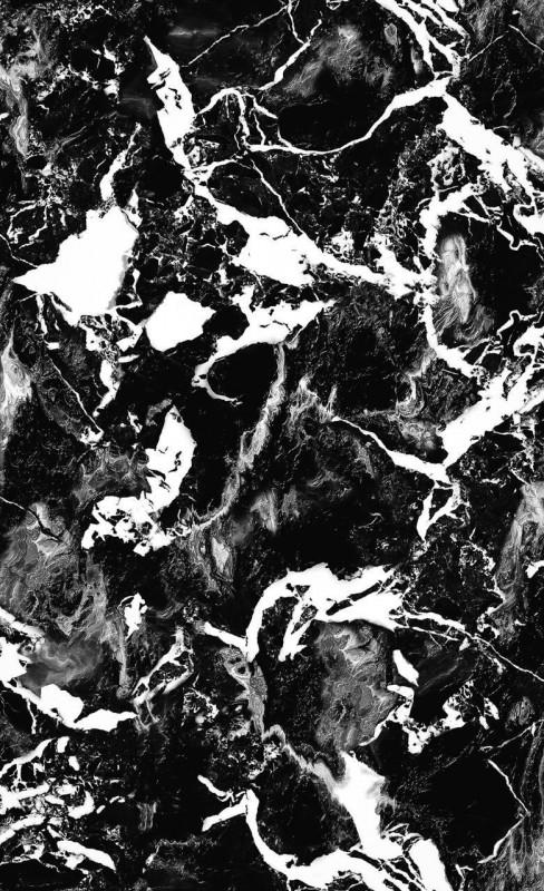 superbe papier peint repr sentation d 39 un marbre noir de carrare avec un effet de profondeur et. Black Bedroom Furniture Sets. Home Design Ideas