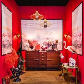 Panneaux Décoratifs Triptyques Flamants Roses