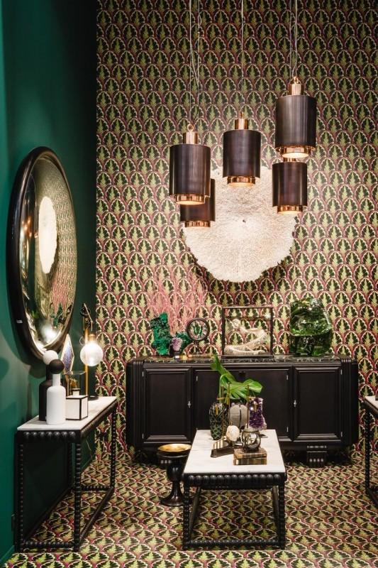 superbe papier peint qui pr sente un motif de feuille de plantes grasses des for ts d 39 amazonie. Black Bedroom Furniture Sets. Home Design Ideas