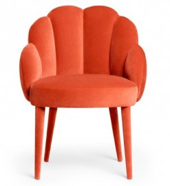 Capucine chair, inspired by the 60s