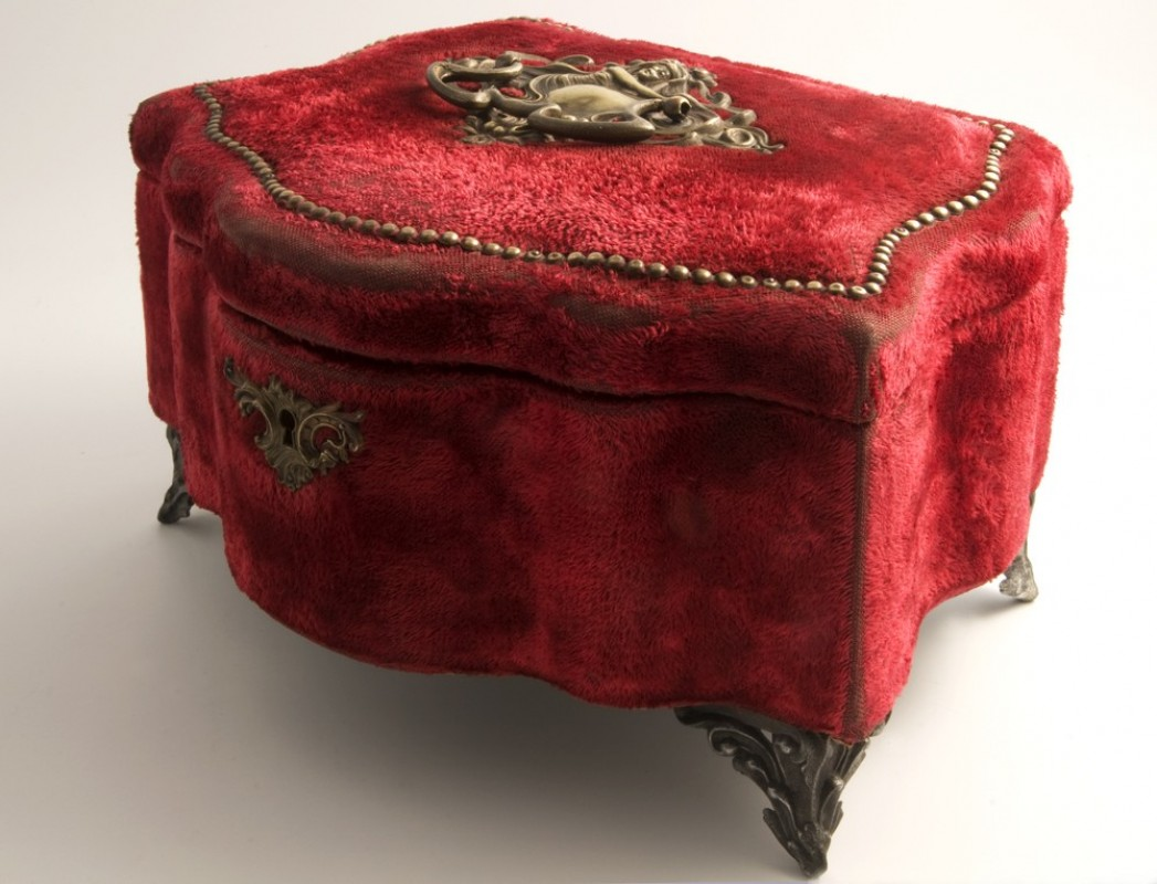coffret bijoux napoleon iii objet ancien. Black Bedroom Furniture Sets. Home Design Ideas