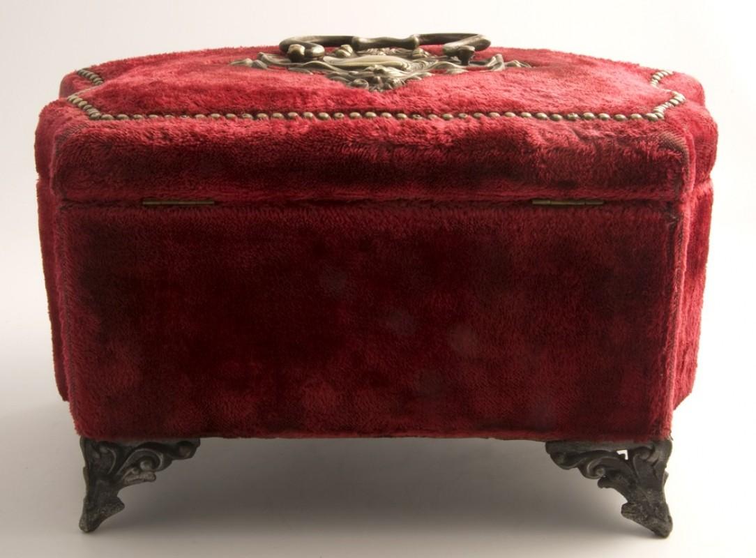 Antique Napoleon Iii Jewelry Box