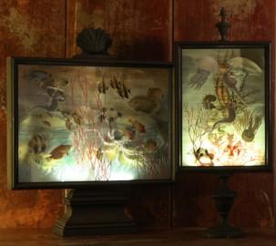 Lampe de Table Mare, H70cm - Italie