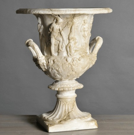 Vase Médicis Bas Relief - Reproduction