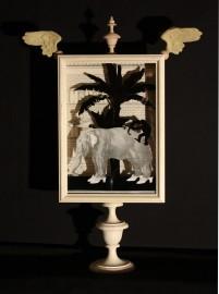 Lampe Cirque en Ville Eléphant, H61cm