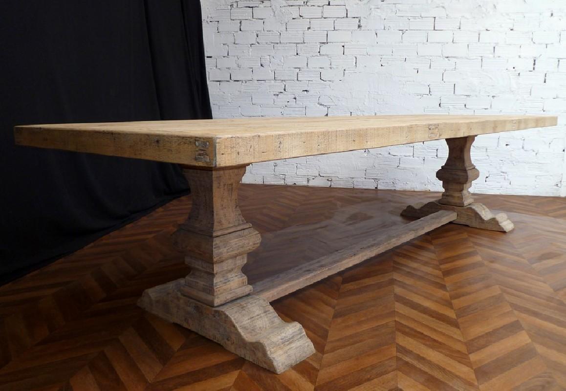 belle table en bois Monastère Grande ferme et brut de ChdQxtsr