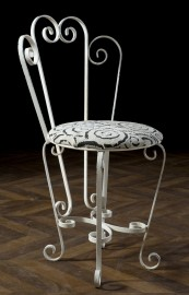 Wrought iron chair 1950