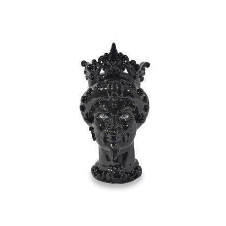 Vase en Céramique, Tête de Maure