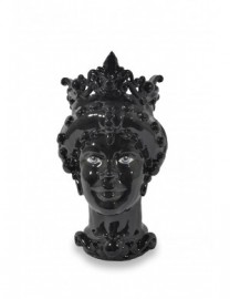 Ceramic Vase, Moor Queen Head