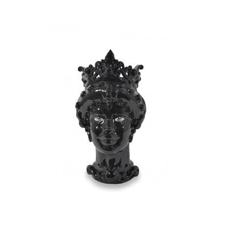 Ceramic Vase, Moor Queen Head
