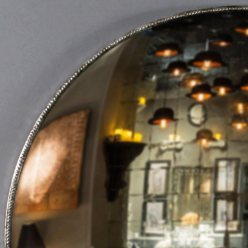 Immense miroir sorci re de 145 cm de diam tre une pi ce unique dans le plus pur style de la fin for Immense miroir