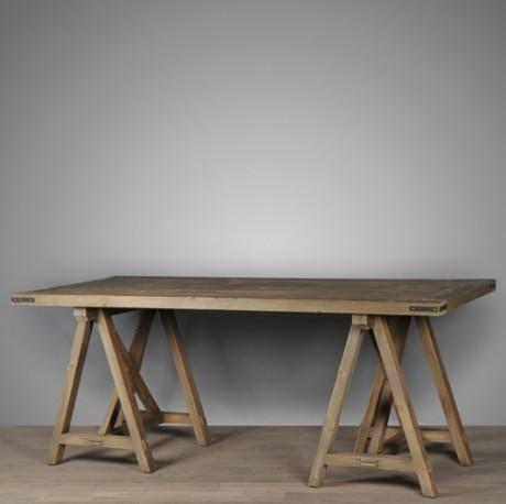 Table Beaux-Arts en bois - 230 cm