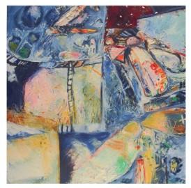 "Oil Painting ""Gare de Limbes"""