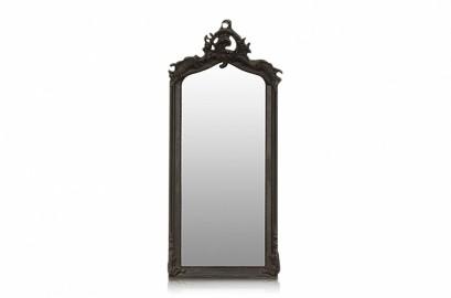 Miroir Baroque Noir Abondance