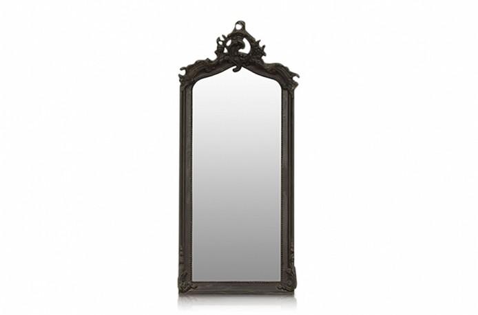 "Black ""Abondance"" Mirror"
