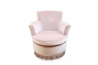 Ballerina Velvet Armchair - Pink