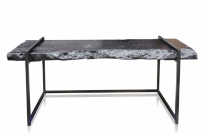 Litchi Console, Lychee Wood & Iron, 200cm