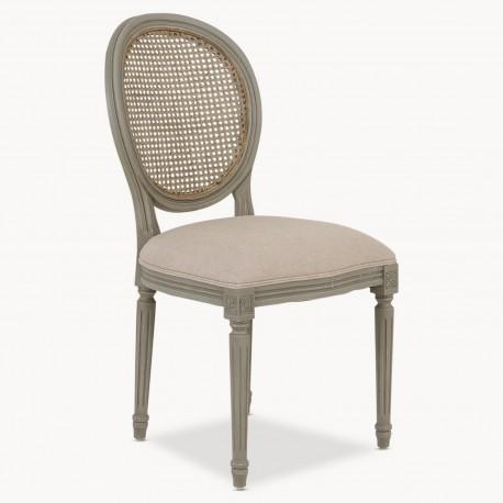 Louis XVI Style Chairs, a pair