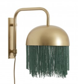 Wall Lamp with Fringes