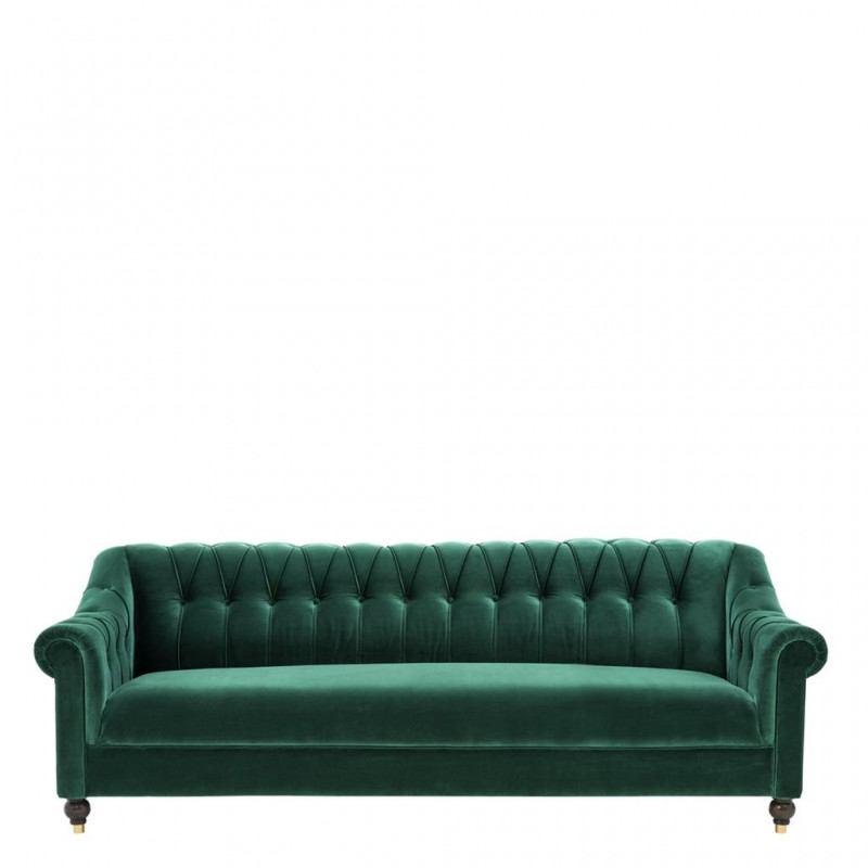 The Kelly Sofa Green Velvet Sofa Luxury Movie Star