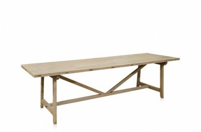 Table en Bois Brut Girder 270 cm