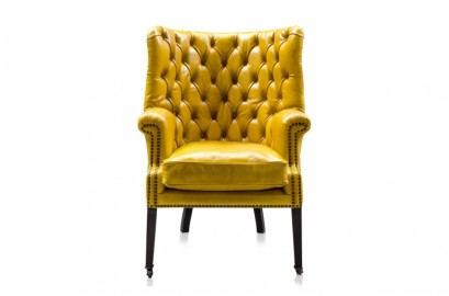 Churchill Pop Armchair - Lemon
