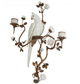 Parrot Sconce, Left