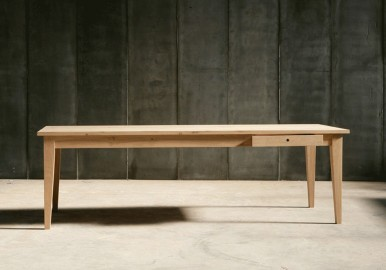 Gioia Dining Table - Solid Oak - 250cm