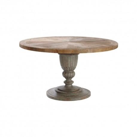 Table De Repas Ronde Bois, Table En Bois Ronde, Shabby Chic, Ancienne, Bois  Ancien, Bois Brut, à Lu0027antique, Antique