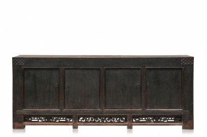 Black Antique Chinese Sideboard XL
