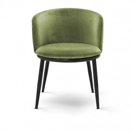 Dining Chair Balmore, Green Amaond Velvet set of 2