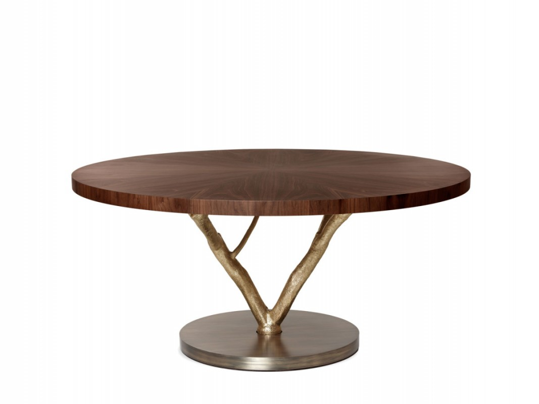 Miraculous The Magnolia Round Dining Table The Nature Is Strikingly Immortalized In This Round Dining Table Gmtry Best Dining Table And Chair Ideas Images Gmtryco