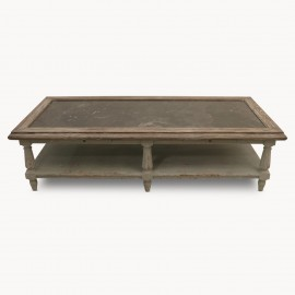 Coffee Table Mouse Grey 130 cm