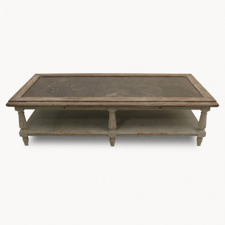 Coffee Table Leopoldine Grey 170 cm