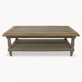 Table Basse Chêne Grisé 130 cm