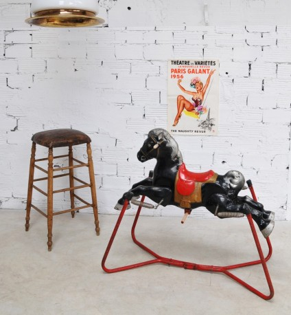 Grand cheval à bascule - VENDU