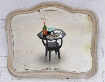 Miroir ancien années 20 - VENDU