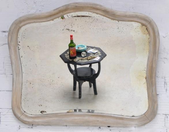1920's beveled mirror