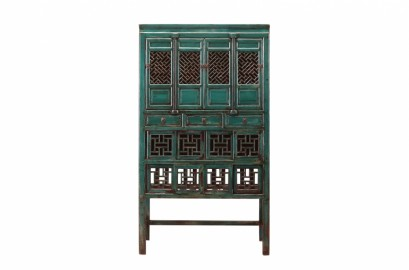 Armoire Lagon, Antiquité Chinoise 170 ans