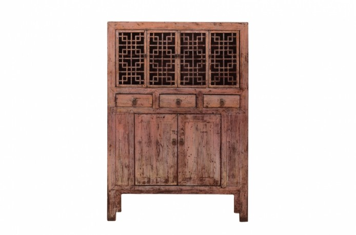 Old Blue Lagoon Cabinet 1900s