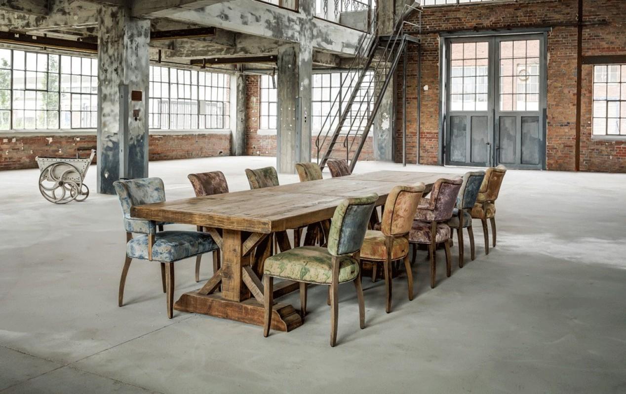 farmhouse table, contemporary, wood table, vintage table ...