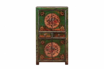 Old Chinese Lacquered Cabinet