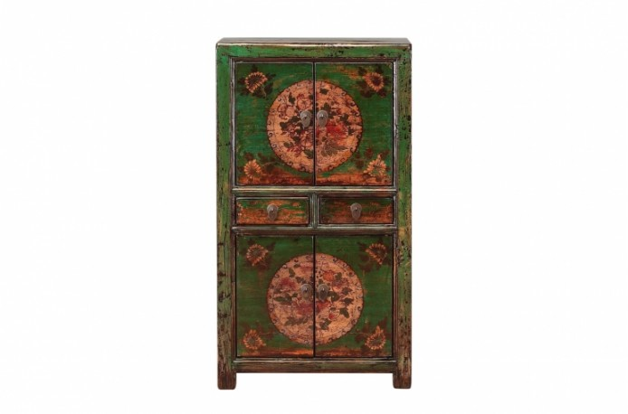 Armoire Chinoise Ancienne Laquée