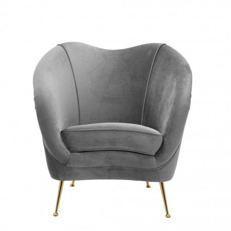 Andy Armchair Grey
