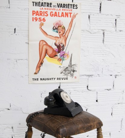 """Poster of """"Théatre des variétés"""" Paris"""